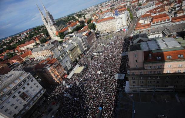 Prosvjed (foto HINA/Lana Slivar Dominić)