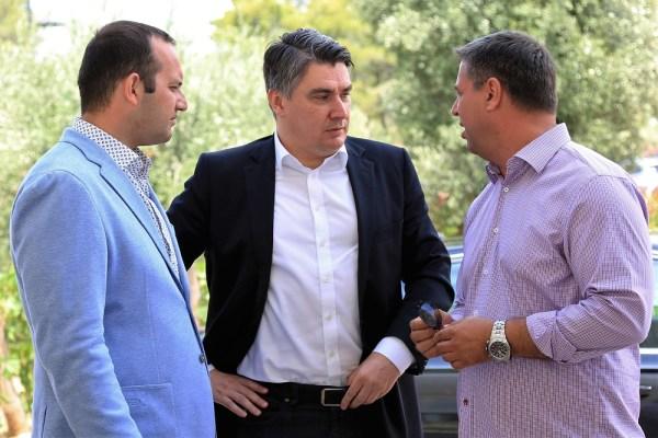 Klarin, Milanović i Vidović (Foto: Tris/H. Pavić)