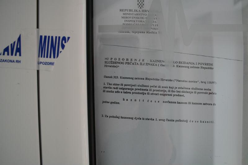 Inspekcija rada na 15 dana zapečatila prostorije Županijskog radio Šibenika