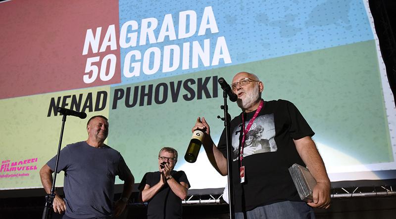 "Motovun: Nagrada ""50 godina"" Nenadu Puhovskom"