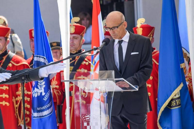 Ivica Glavota u Kninu : Ispričavam se, moj narode, što nismo odradili posao do kraja pa sada moraš trpjeti ovakva sranja i uvrede u vlastitoj zemlji