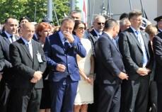 Josipa Rimac bila je u drugom redu u na Tvrđavi i na Trgu dr. Ante Starčevića