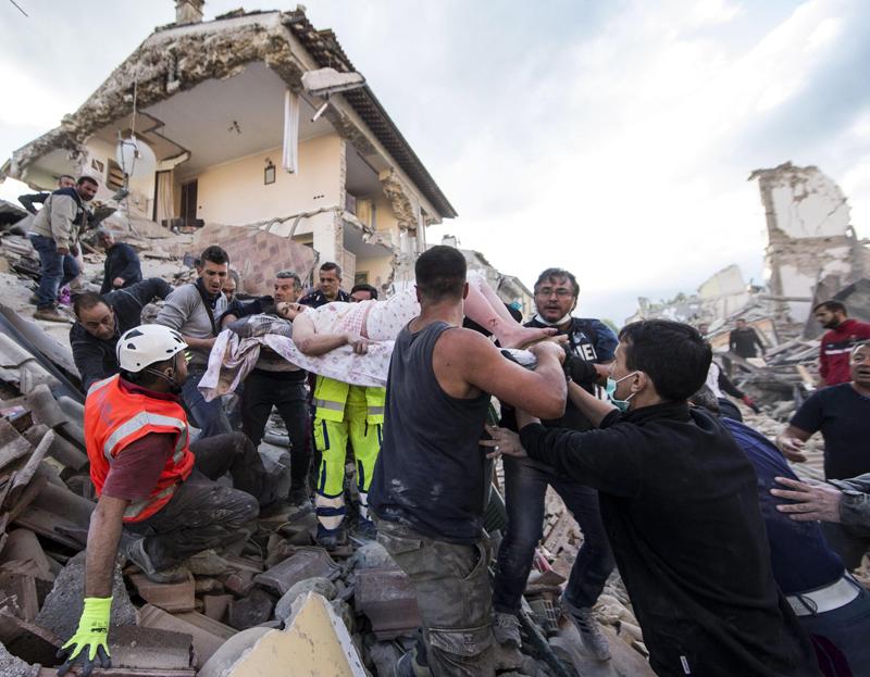 Razoran potres u središnjoj Italiji