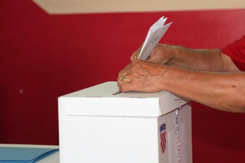 Odaziv glasača tri posto slabiji nego lani