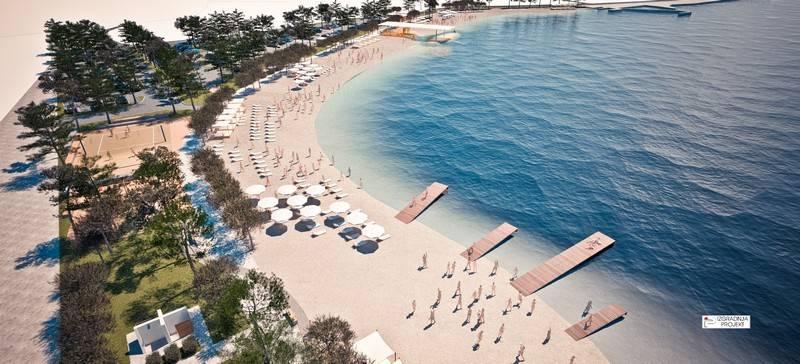 Za 6 mjeseci nova plaža na Brodarici