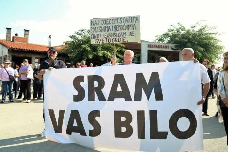 Prosvjed na Kapeli (Foto: H. Pavić)