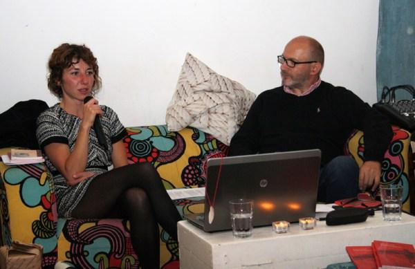 Maja Klarić i moderator Damir Vojnovac (Foto: Jozica Krnić)
