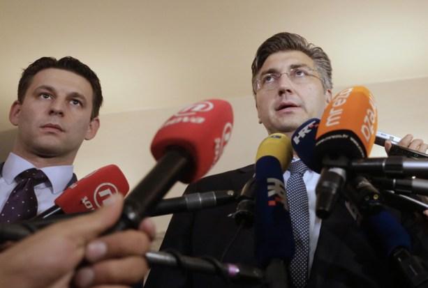 Plenkoviæ i Petrov: Postignut kompromisni dogovor HDZ-a i Mosta