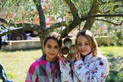 PP Vransko jezero u školama održava radionice izrade hranilica za ptice