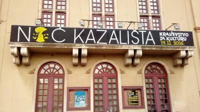 Noć kazališta: Kraljevstvo za kulturu