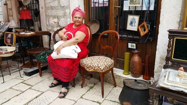 Esma Redžepova jutro nakon šibenskog koncerta (Foto: TRIS)