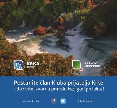 NP Krka: Učlanite se u Klub prijatelja Krke