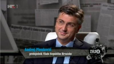 Andrej Plenkovic u Nu2 (Snimka zaslona)