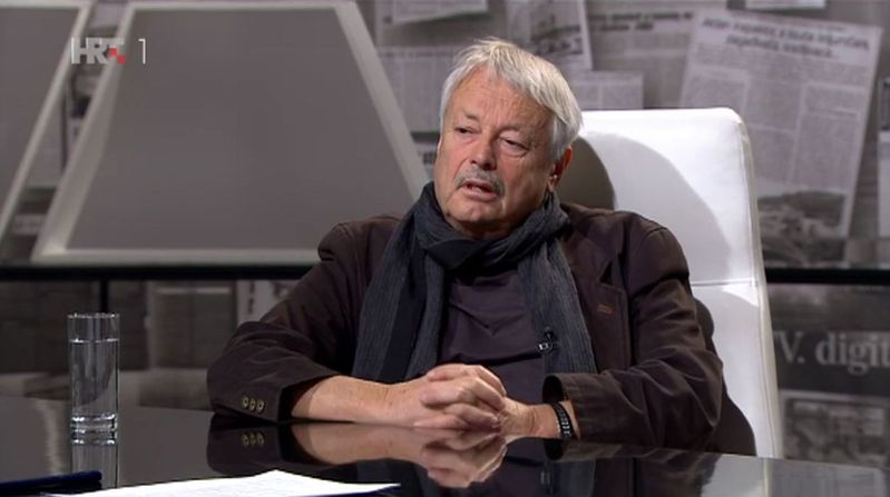 Slobodan Šnajder (Foto: HRT)
