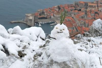 Srđ je na idealnom mjestu za skijaške skokove (foto Facebook)