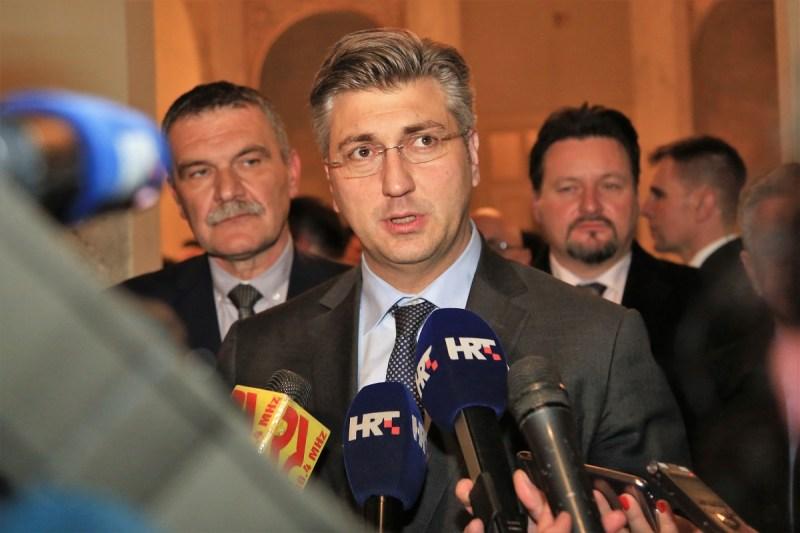"""A. Plenković: Kontekst režima u Jasenovcu i slogan """"Za dom spremni"""" ne idu skupa"""