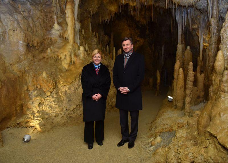 Podzemni susret na najvišoj razini: Predsjednica i Predsjednik sastali se u špilji