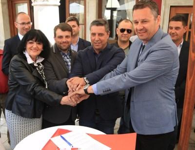 Koalicija SDP-HNS-HSS-HSU: Zajedno možemo skinuti paučinu sa Šibensko-kninske županije