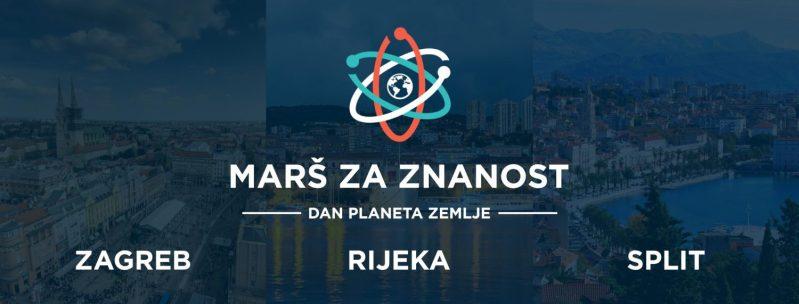 Marš za znanost u Zagrebu, Splitu i Rijeci: Vrijeme je da još jednom pokažemo da Hrvatska može i mora bolje!