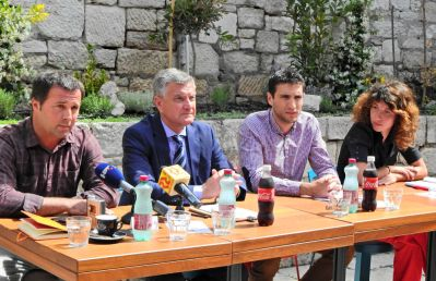 Karađole, Burić, Baraka i Klarić (Foto: Jozica Krnić)