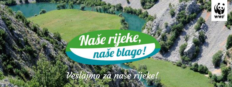 """Ovogodišnja kampanja WWF-a """"Naše rijeke, naše blago"""" počinje na Zrmanji"""