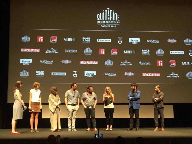 Nakon projekcije Trešanja, večeras u Cannesu (foto HAVC)