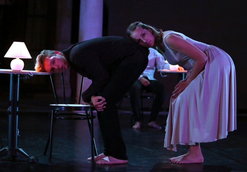 Prizor iz jučerašnje predstave 'Zatvaramo!' (Foto: MDF)