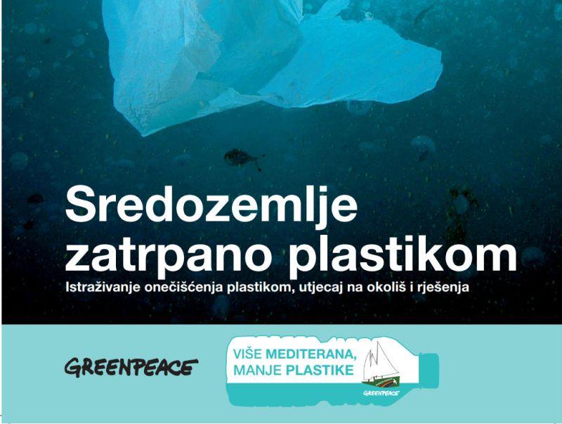 Greenpeace: Plastika za jednokratnu upotrebu guši naša mora i tome moramo stati na kraj!