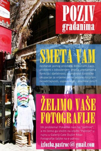 POziv na Paštroć - izvor: GAT/Muzej grada Trogira