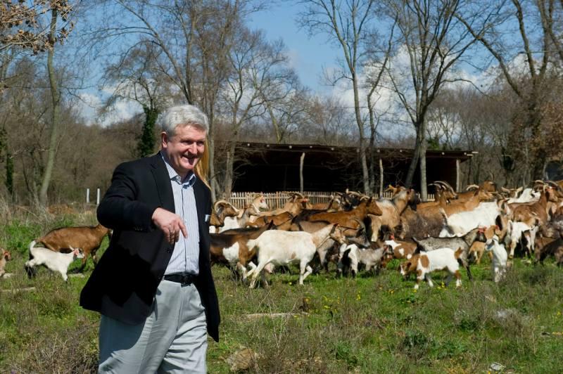 I.T. (66) u društvu stada koza (foto: www.ivicatodoric.hr)