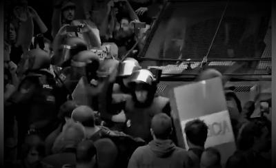 Katalonija sinoć: pendreci, a ne sloboda (foto: printscreen)