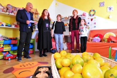 Otvaranje s mandarinama (foto TRIS/G. Šimac)