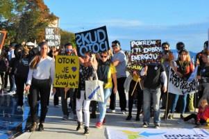 Pokret otoka u Zadru (foro TRIS/G.Šimac)