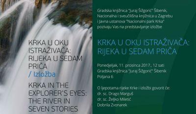 """Izložba """"Krka u oku istraživača: rijeka u sedam priča"""""""