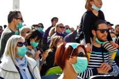 Maskama protiv maskiranih - foto TRIS/G. Šimac