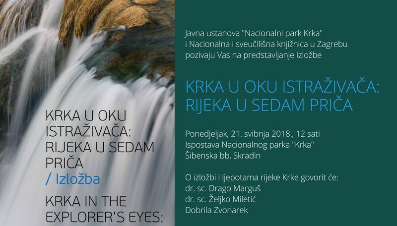 Dvije izložbe Nacionalnog parka Krka