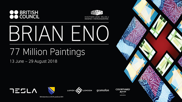 "Brian Eno izlaže u Sarajevu: Multimedijalna instalacija ""77 Million Paintings"""