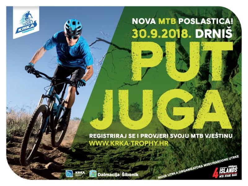 Krka Trophy: Biciklistički Juriš na Drniš, Prominska patrola, Harambašin bijeg i Promina AM (all mountain)