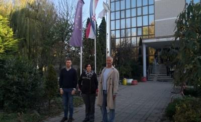 Aktivisti CMS-a i KLJP-a ispred Prihvatilišta za tražitelje azila