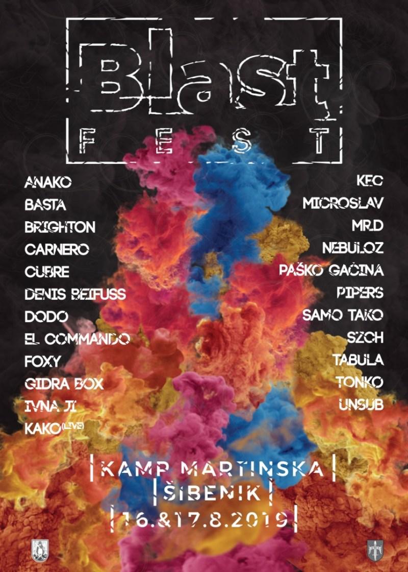Nebo iznad Martinske: Blast Fest – besplatna glazbena utopija