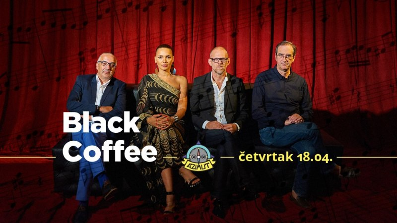 Jazz kofein: Black coffee u Azimutu