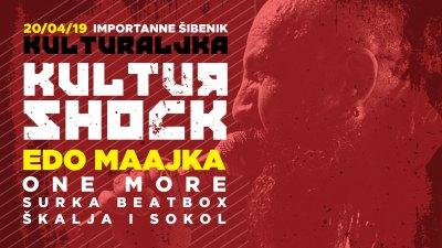 Kulturaljka: Kultur Shock, Edo Maajka, One More, Ogenj, Surka Beatbox, Daboo, Škalja, Sokol…