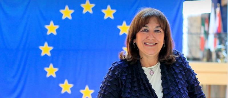 Jedna od najvećih Hrvatica Dubravka Šuica (foto www.dubravka-suica.eu)