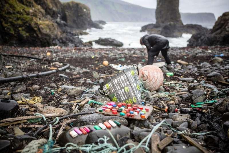 Plaža zagađena plastikom