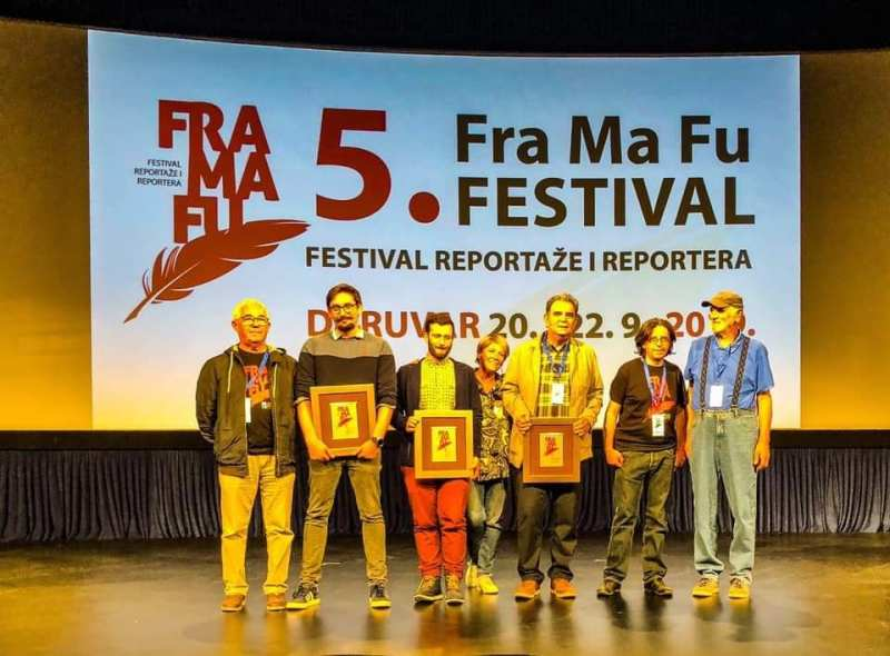 Nagrađeni na FraMaFu  (foto Nikola Šolić)