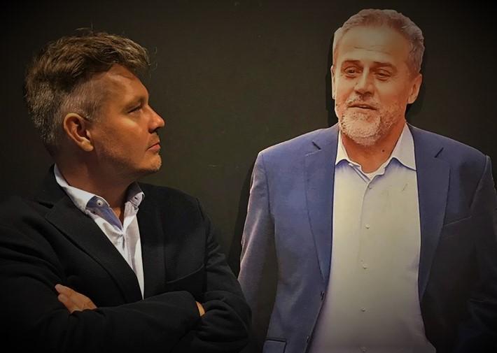Milan Bandić i Milan Bandić (foto Facebook Muzej korupcije)