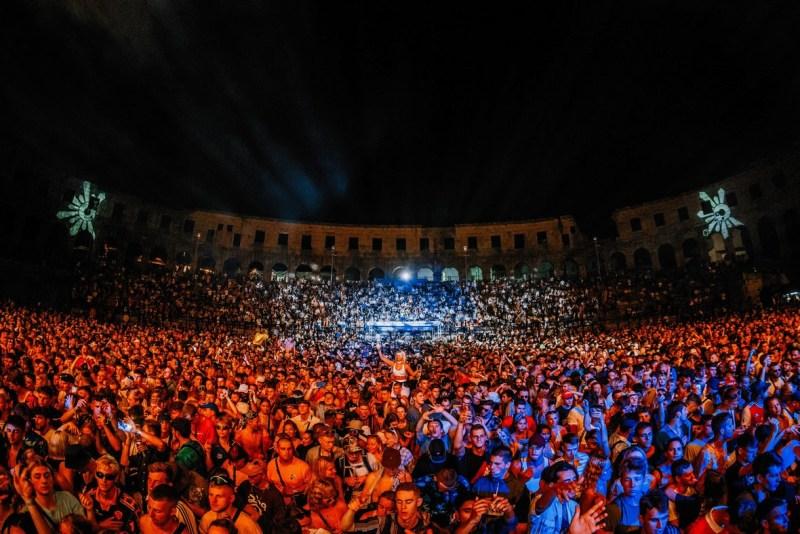 Otvorenje Outlook festivala u Areni. Foto: Marko Obradović Edge