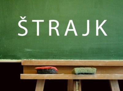 Sindikat novinara Hrvatske izražava solidarnost i daje punu potporu borbi učitelja i nastavnika za dostojanstvo i pristojne plaće