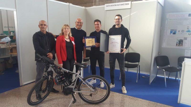 Šibenski inovatori Mario i Ivan Ljubičić dobili zlato za inovaciju na električnom biciklu