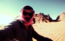 Šibenski beduin Joso u pustinji Wadi Rum (foto: Joso Gracin Joka/Nina Živković)
